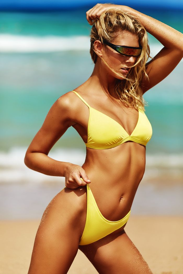 1f01c5dc9349f This Swimsuit Shape Will Never go Out of Style | Who What Wear UK