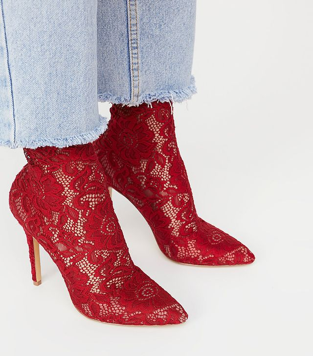 Best In Lace Heel by Charles David at Free People