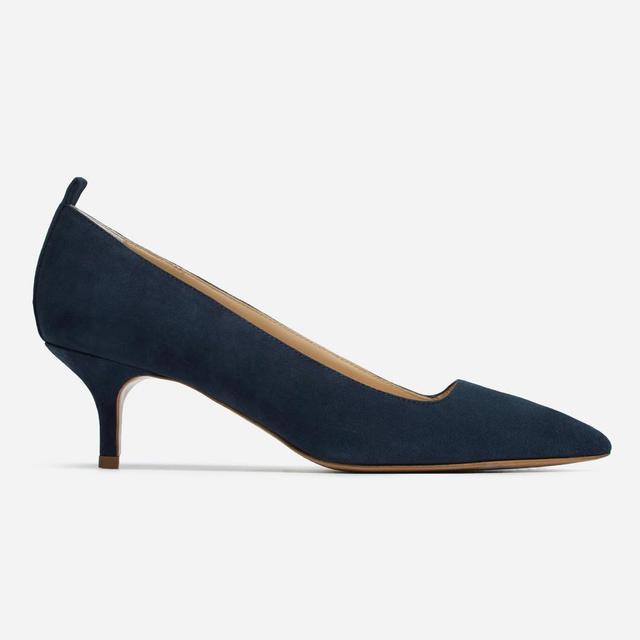 Women's Kitten Heel by Everlane in Navy, Size 10.5