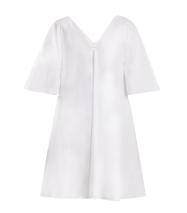 Lianne V-neck A-line dress