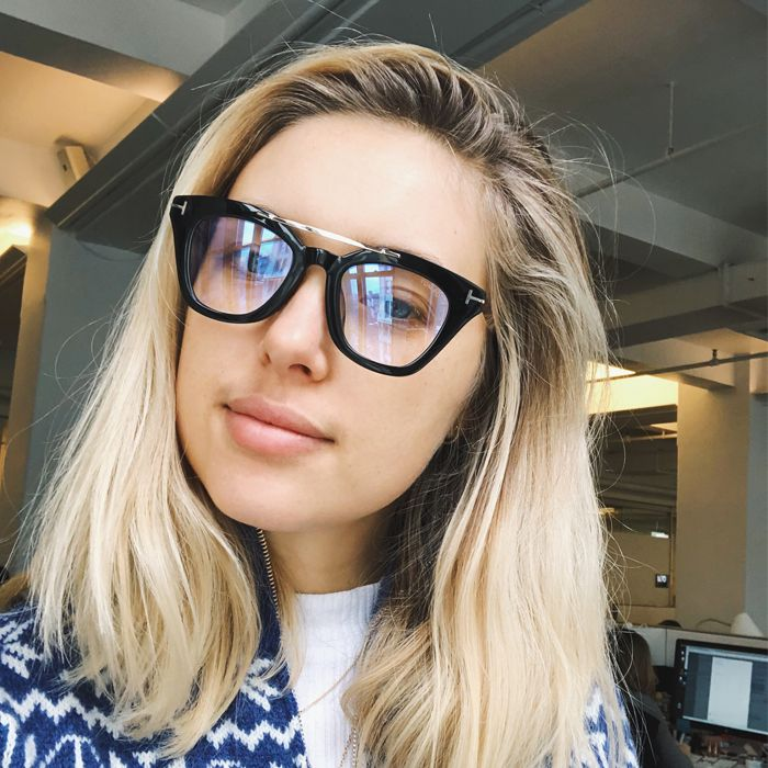I Wore Blue-Block Glasses Because Screens Are Killing Me | Who What Wear
