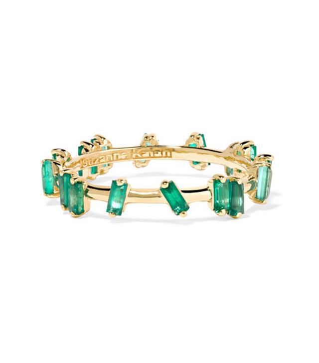 18-karat Gold Emerald Ring