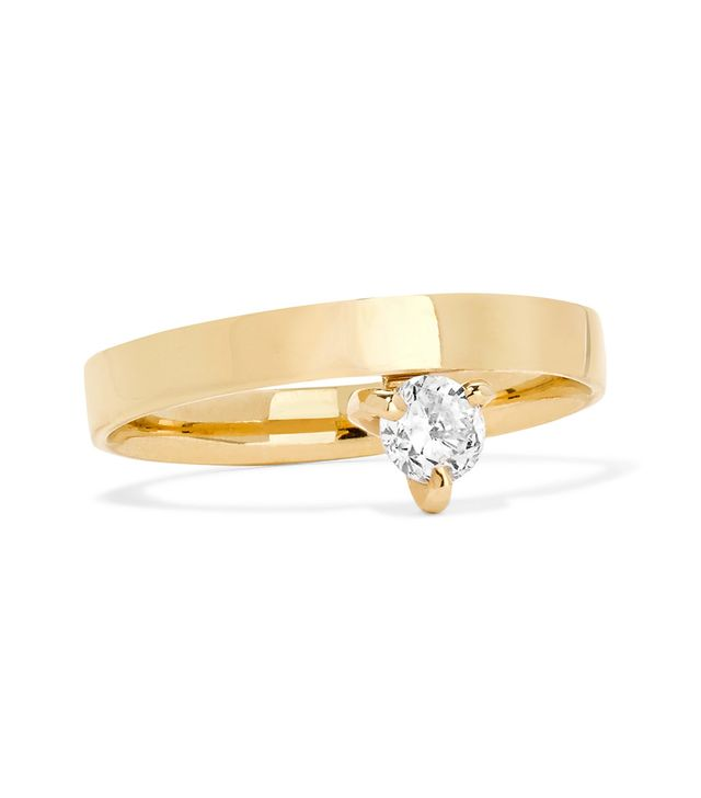 Prosperity 18-karat Gold Diamond Ring