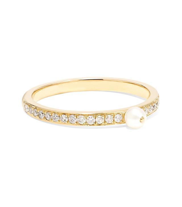 Perle Rare 14-karat Gold