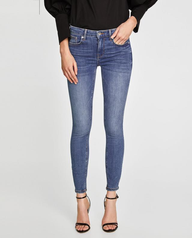 Zara Jeans Skinny Viola Maldive