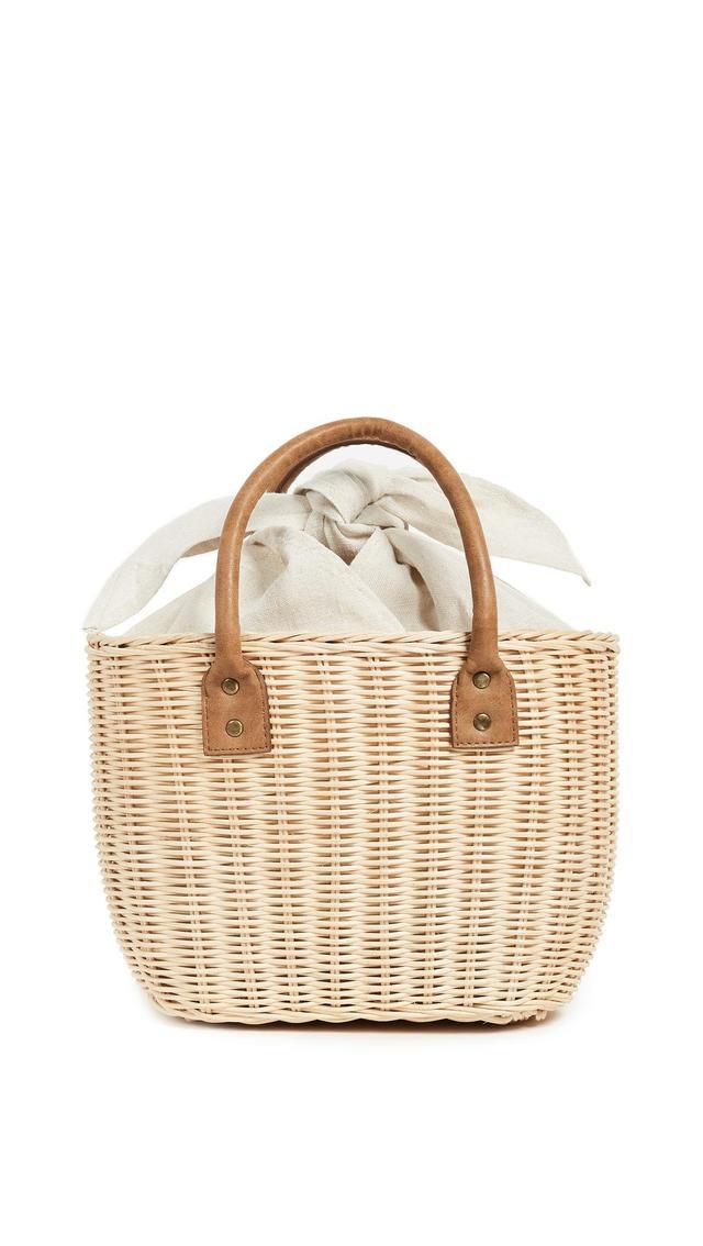 Hat Attack Small Wicker Basket