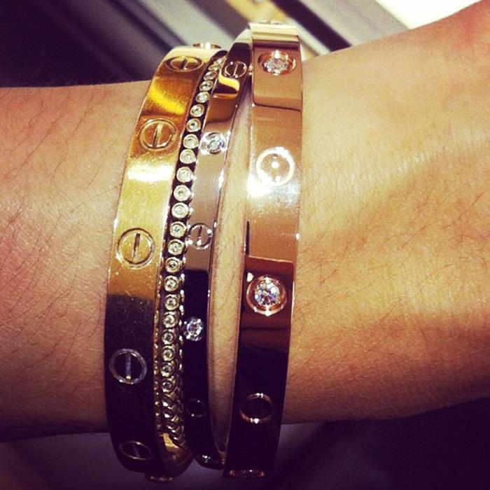 Cartier Love Bracelet Why It S Still As Por Ever Who What Wear Uk