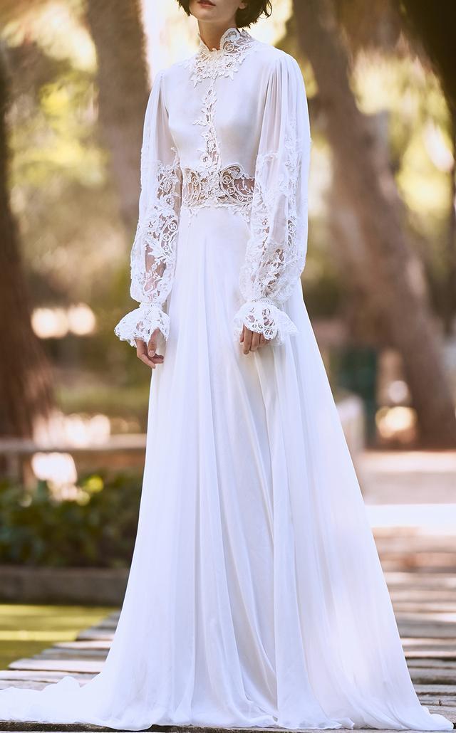 Silk Chiffon Ethereal Dress