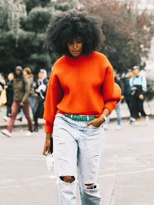 The Cool Denim Trend That's Already Winning in 2018