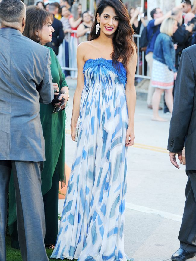 Amal Clooney's Style and Best Looks Will Inspire You   Who What Wear UK