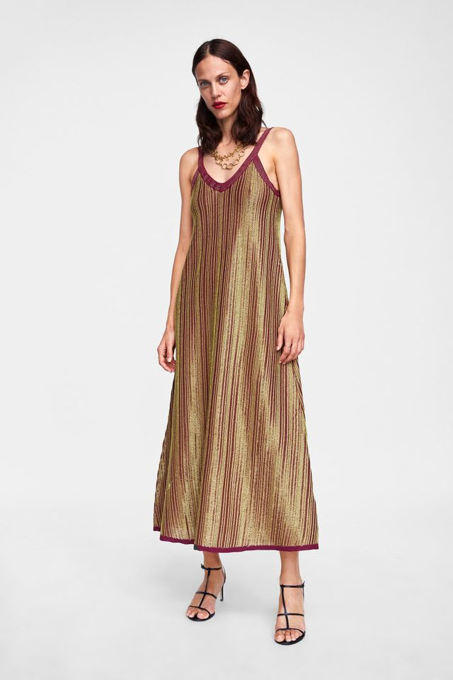 alice McCALL Limited Edition Dress With Metallic Thread