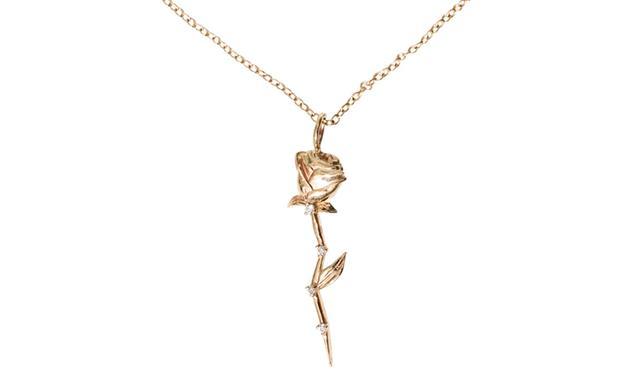 Sofia Zakia Celestial Rose Necklace