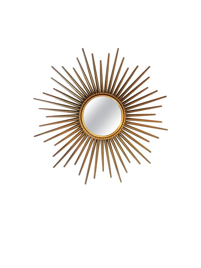 1st Dibs French Midcentury Sunburst Chaty Vallauris Mirror