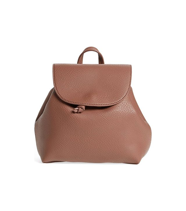 Jaylee Faux Leather Mini Backpack -