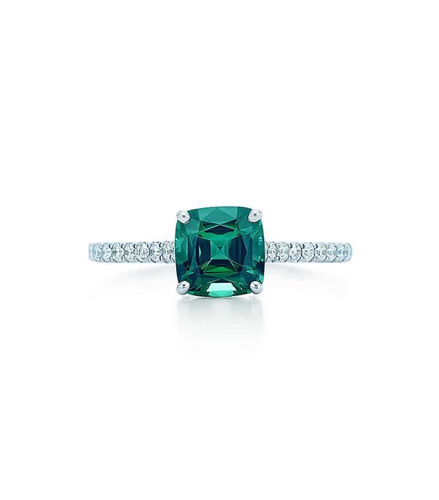 Tiffany & Co. Green Tourmaline Ring