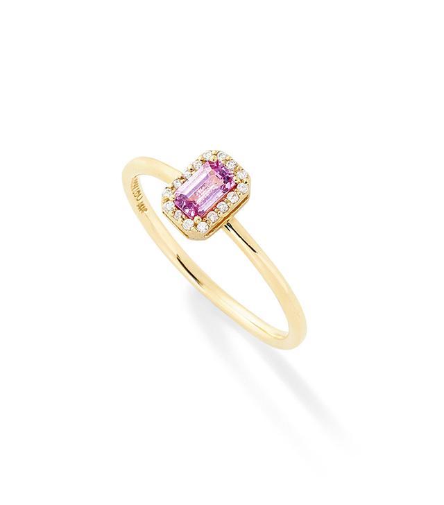 "Allison Lou ""S"" Diamond Stack Ring"