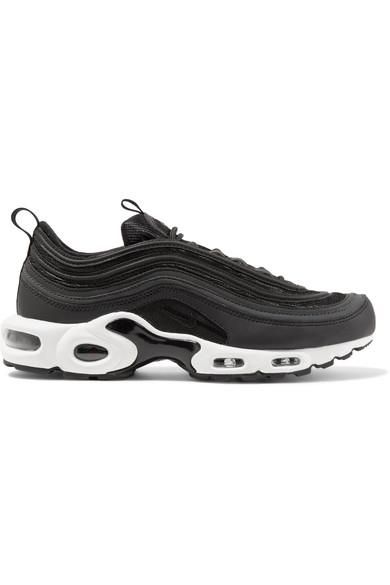 Air Max Plus 97 Leather-trimmed Mesh Sneakers