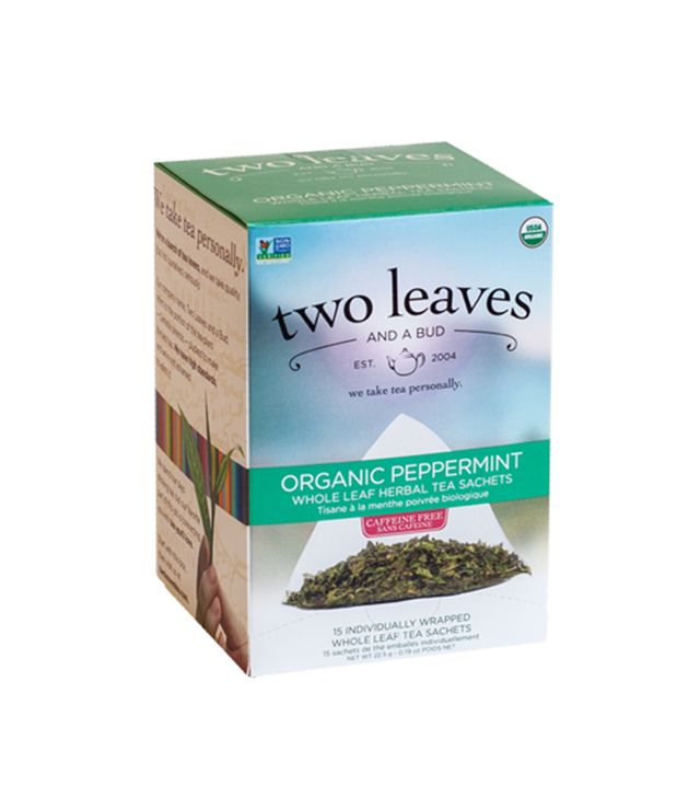 Organic Peppermint by Two Leaves and a Bud