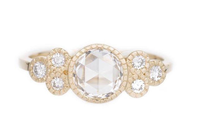 Jennie Kwon Diamond Cluster Elevate Ring