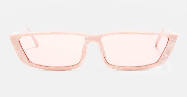 Winona Slim Rectangle Sunglasses