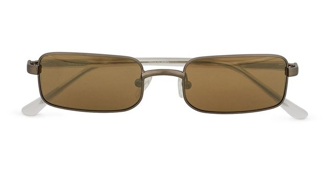 Dries van Noten for Linda Farrow Vintage Rectangular Frame Sunglasses