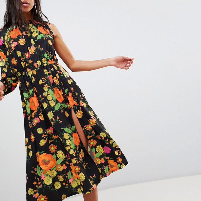 The Best Vintage Floral Dresses To Buy Now Who What Wear Uk