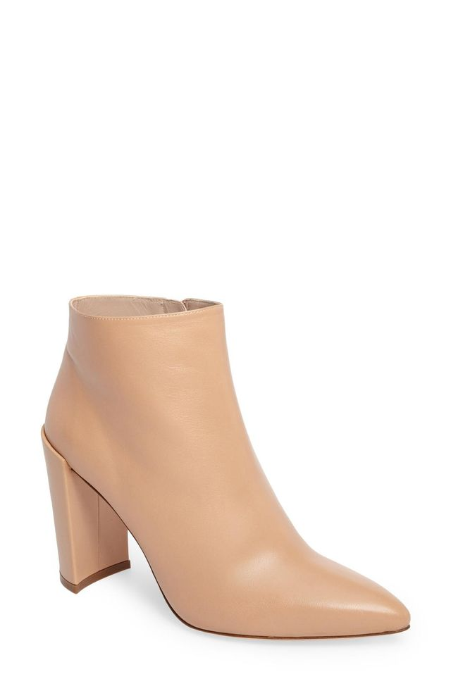 Pure Pointy Toe Bootie