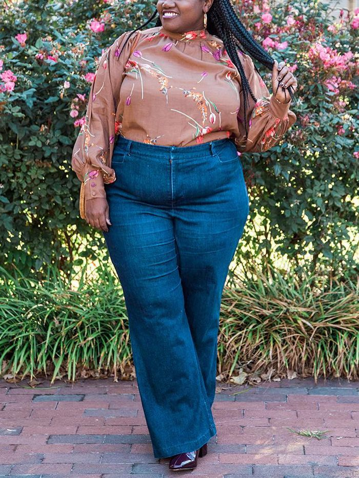ea66f6c583 What Bloggers Think of Plus Size Denim in the Fashion