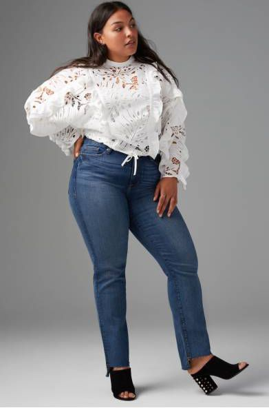7e81ae09963 What Bloggers Think of Plus Size Denim in the Fashion