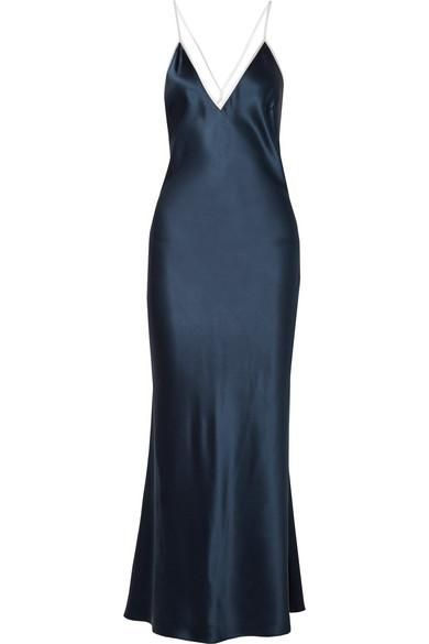 Boudoir Silk-satin Maxi Dress