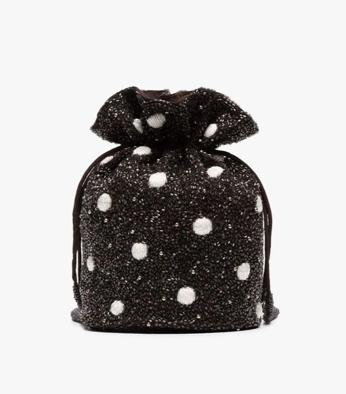 fa4f6904b516 Ganni Beaded Bag. Ganni s mini beaded pouch