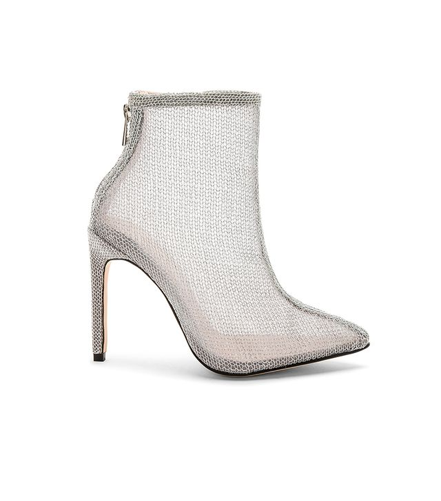 Tatiana Bootie in Silver. - size 8 (also in 10,5.5,6,6.5,7,8.5,9,9.5)