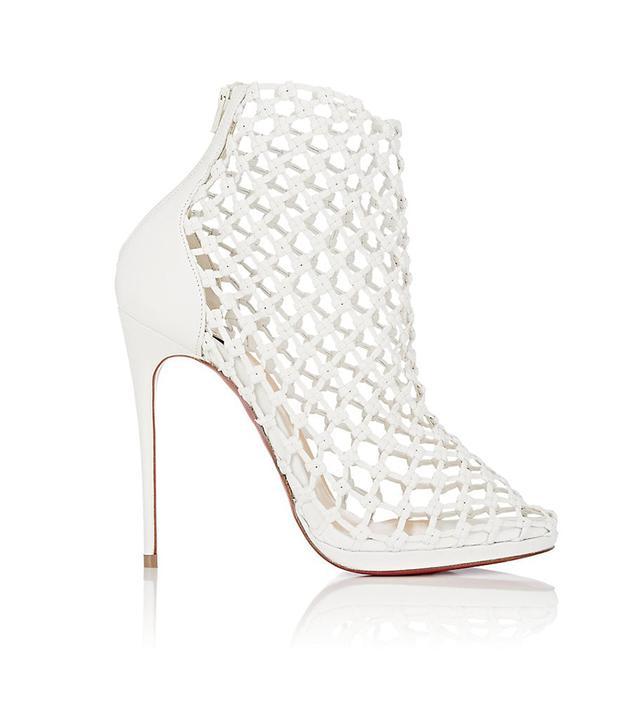 Women's Porligat Woven Leather Ankle Boots