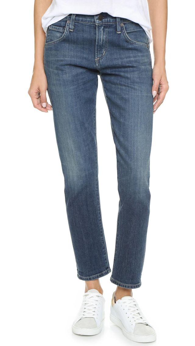 Emerson Slim Boyfriend Ankle Jeans