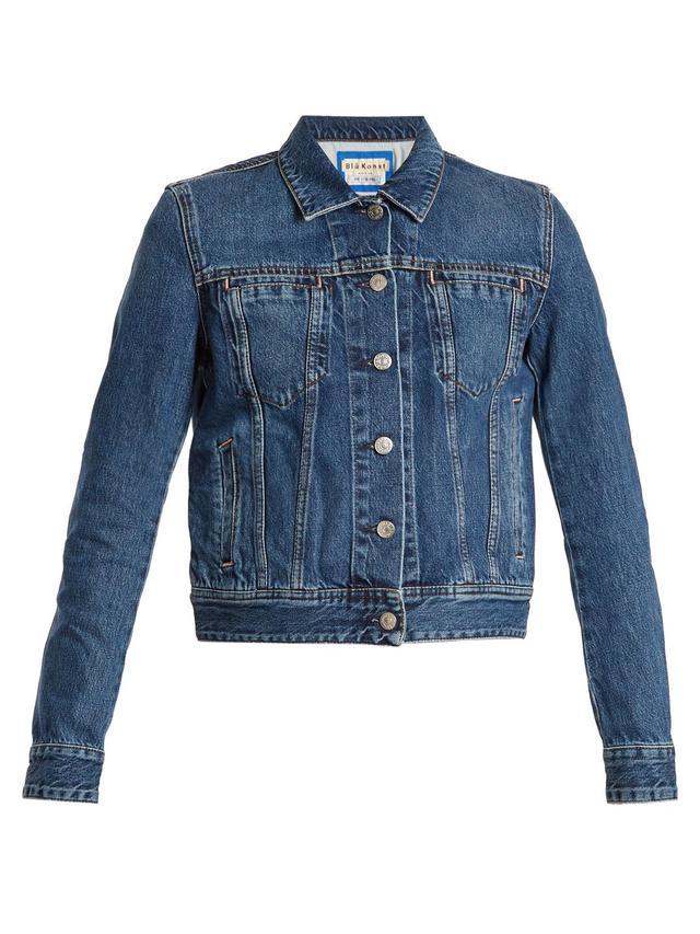 Blå Konst Cliff denim jacket