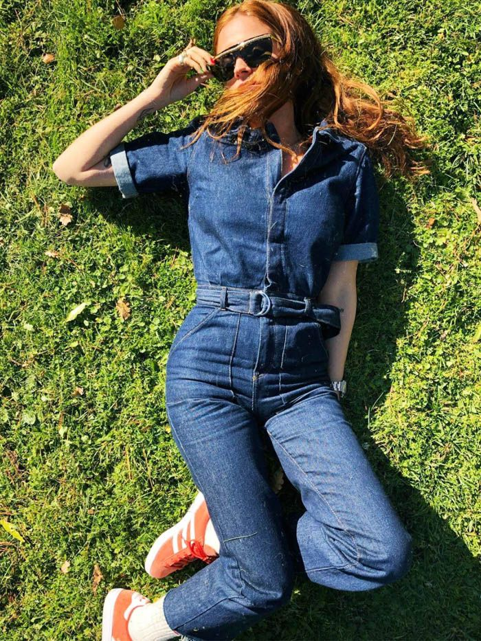 23ac42aa4f7 This Is the Perfect Denim Jumpsuit