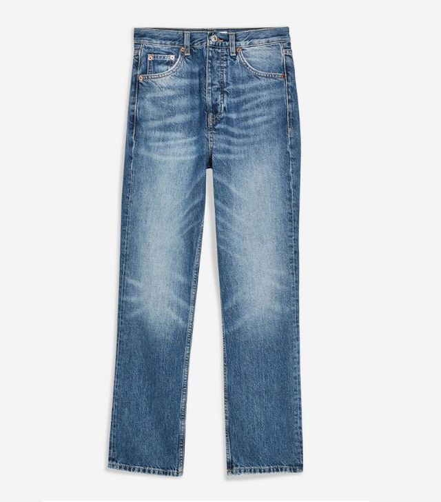 Topshop Editor Cropped Jeans