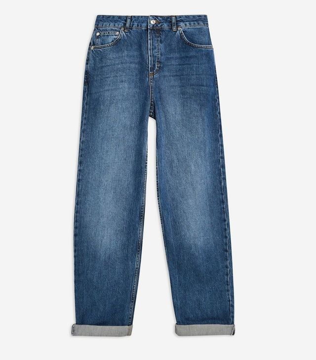 Topshop Mid Blue Balloon Jeans