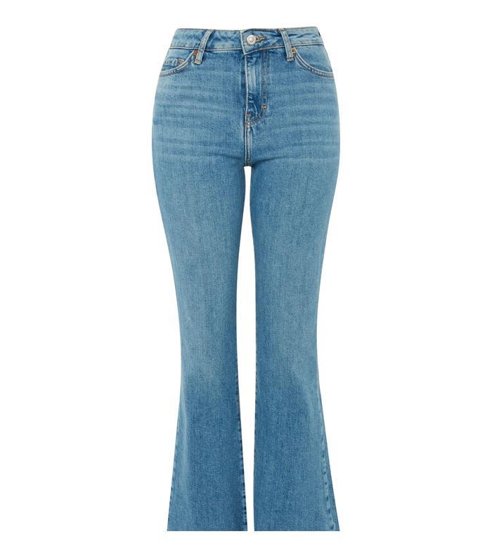 f5910089043 Pinterest · Shop · Topshop Mid Blue Dree Cropped Jeans ...