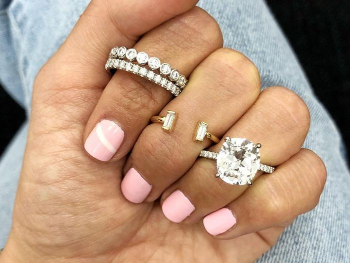 235c16373 Brides Are Opting for These 25 Unique Engagement Rings | Who What Wear