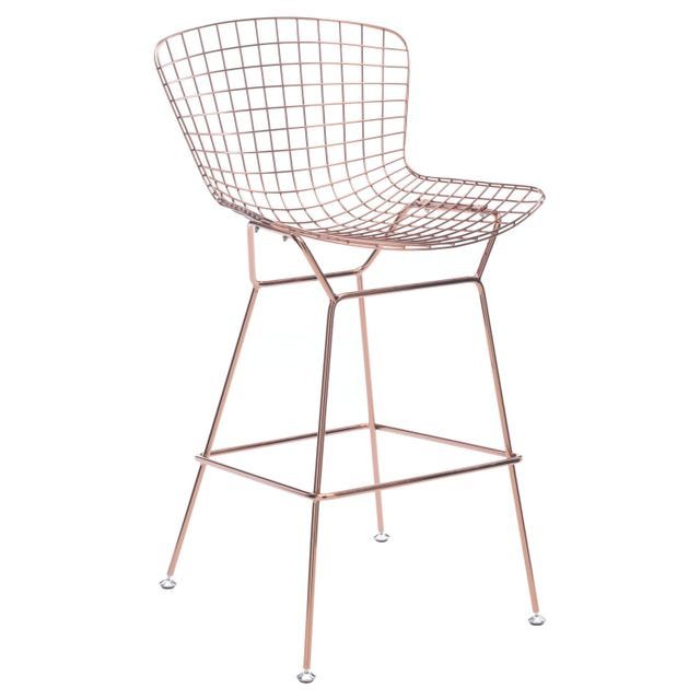 ZM Home Midcentury Modern Counter Stool