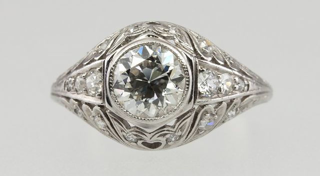 Vintage Early 1900's Engagement Ring