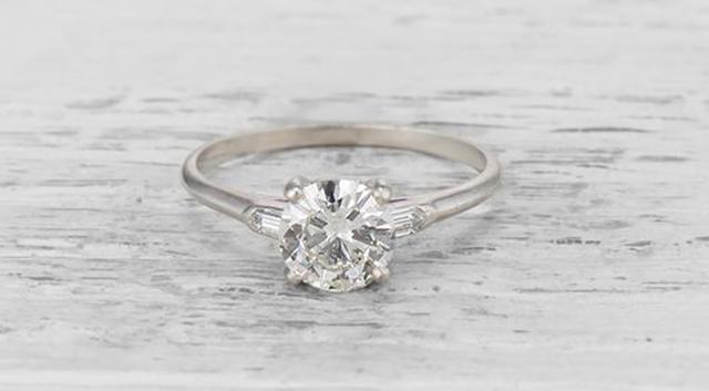 Tiffany & Co. Art Deco Engagement Ring