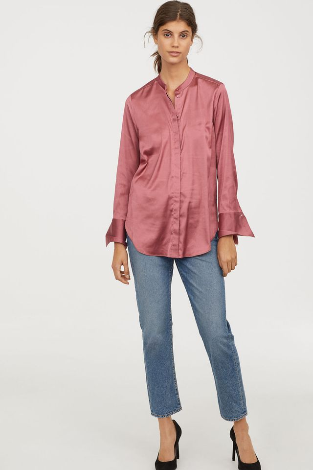 H&M Satin Blouse