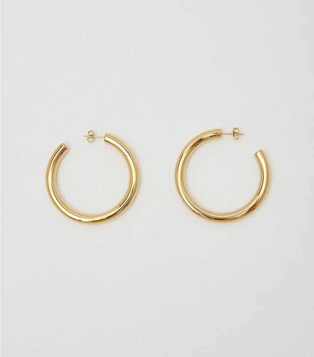 WWAKE Arc 14-Karat Gold Opal Earrings