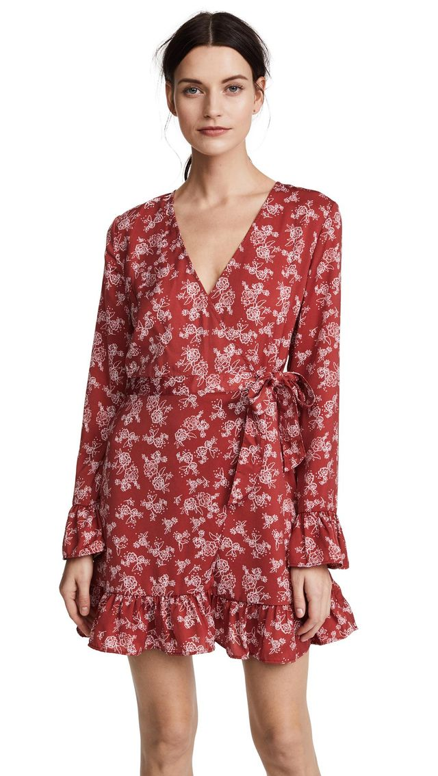 Ophelia Wrap Dress