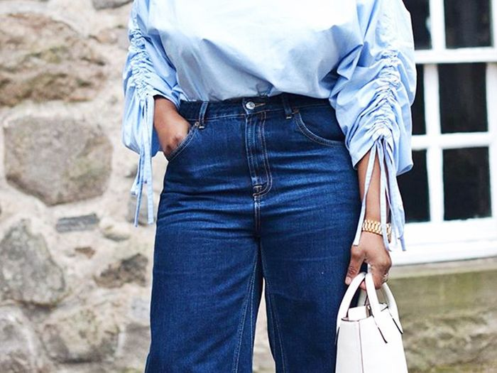 57424b3b Jeans for Wide Hips | Who What Wear