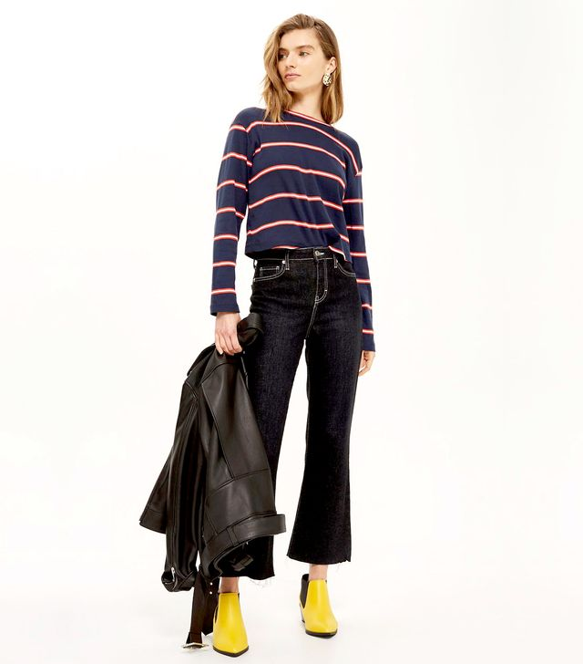 MOTO Contrast Stitch Dree Jeans
