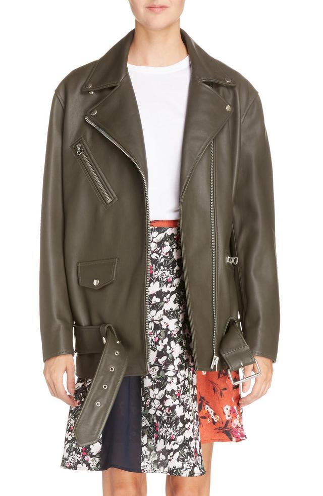 Women's Acne Studios Myrtle Leather Jacket