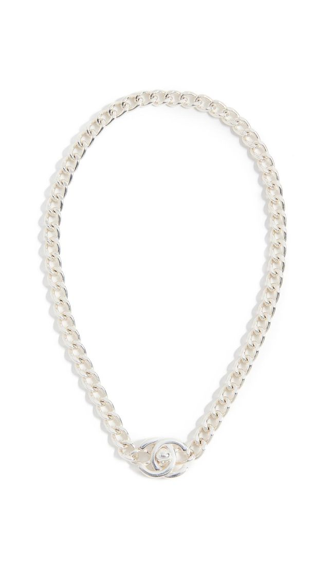 Chanel Turnlock Necklace